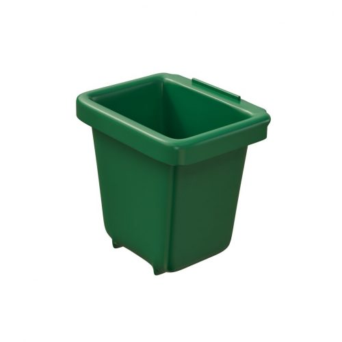 Corbeille de récupération TriSource 2L NI Corporation vert