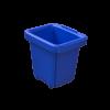 Corbeille de récupération TriSource 2L NI Corporation bleu