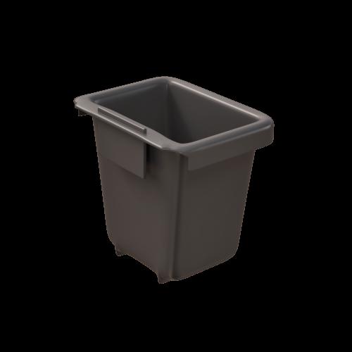 Corbeille de récupération TriSource 2L NI Corporation gris