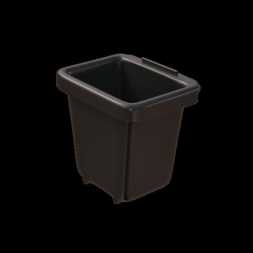 Corbeille de récupération TriSource 2L NI Corporation noir