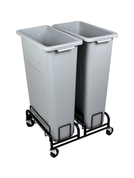 Waste Watcher Bins and Wheeled base angle