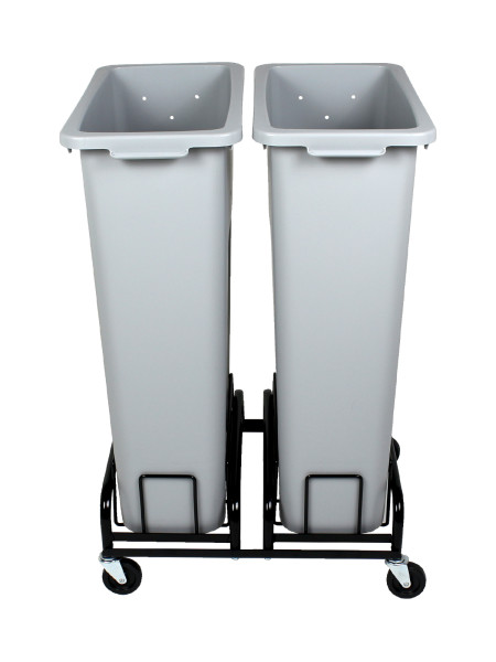Waste Watcher Bins and Wheeled base side