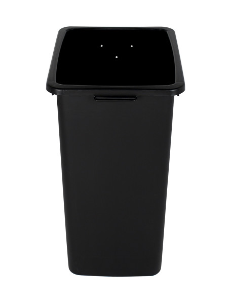 Black Waste Watcher Bin