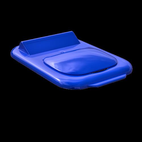Couvercle Mobilia carré bleu