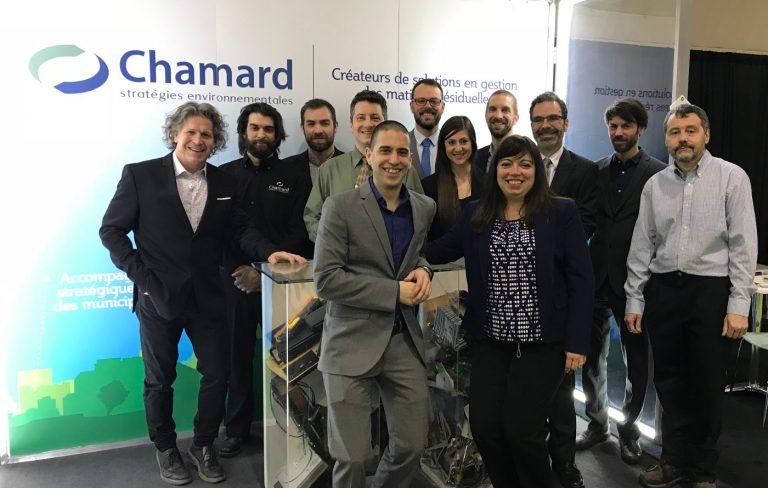 Union de Chamard stratégies environnementales et de la division des services-conseils de NI Corporation