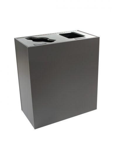 Aristata Recycling and Waste Bin 2 streams of 58 Liters Busch Systems NI Products