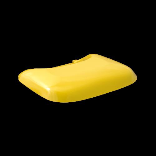 NI Produits - Fermoir pour couvercle poubelle Mobilia jaune