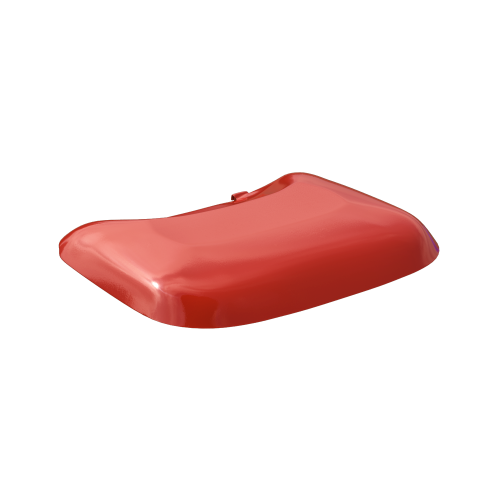 NI Products - Latch for Mobilia Lid red