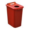 NI Products - Mobilia Used Batteries Bin 26 liters red