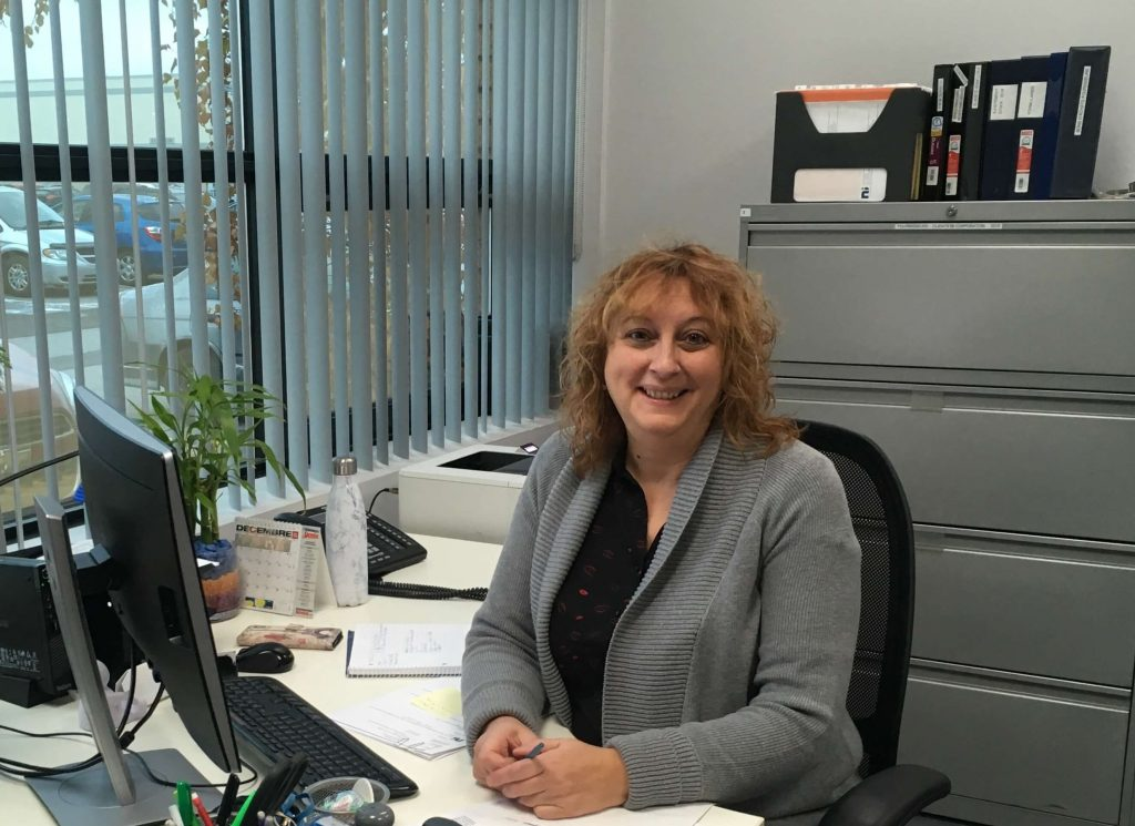 Claudette Tomé, Purchasing and Inventory Supervisor