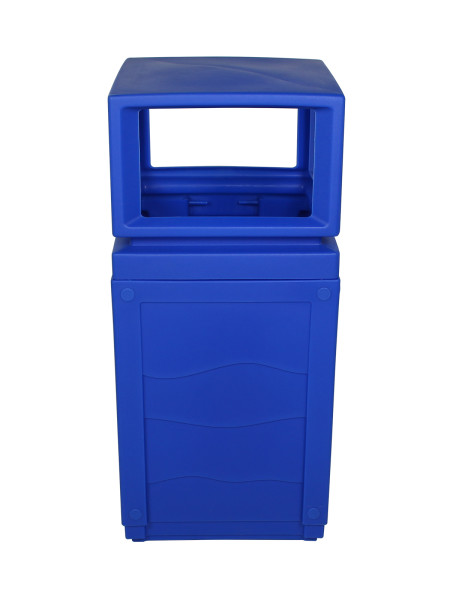 Outdoor Garbage Unit Evolve Canopy Blue NI Products