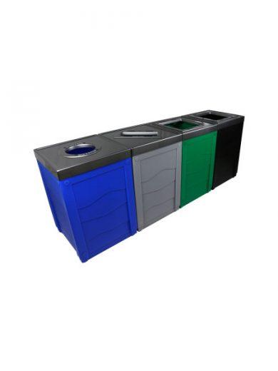 Îlot de tri Evolve Cube 4 voies NI Produits