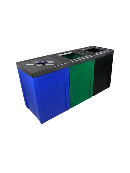 Îlot de tri Evolve Cube 3 voies NI Produits