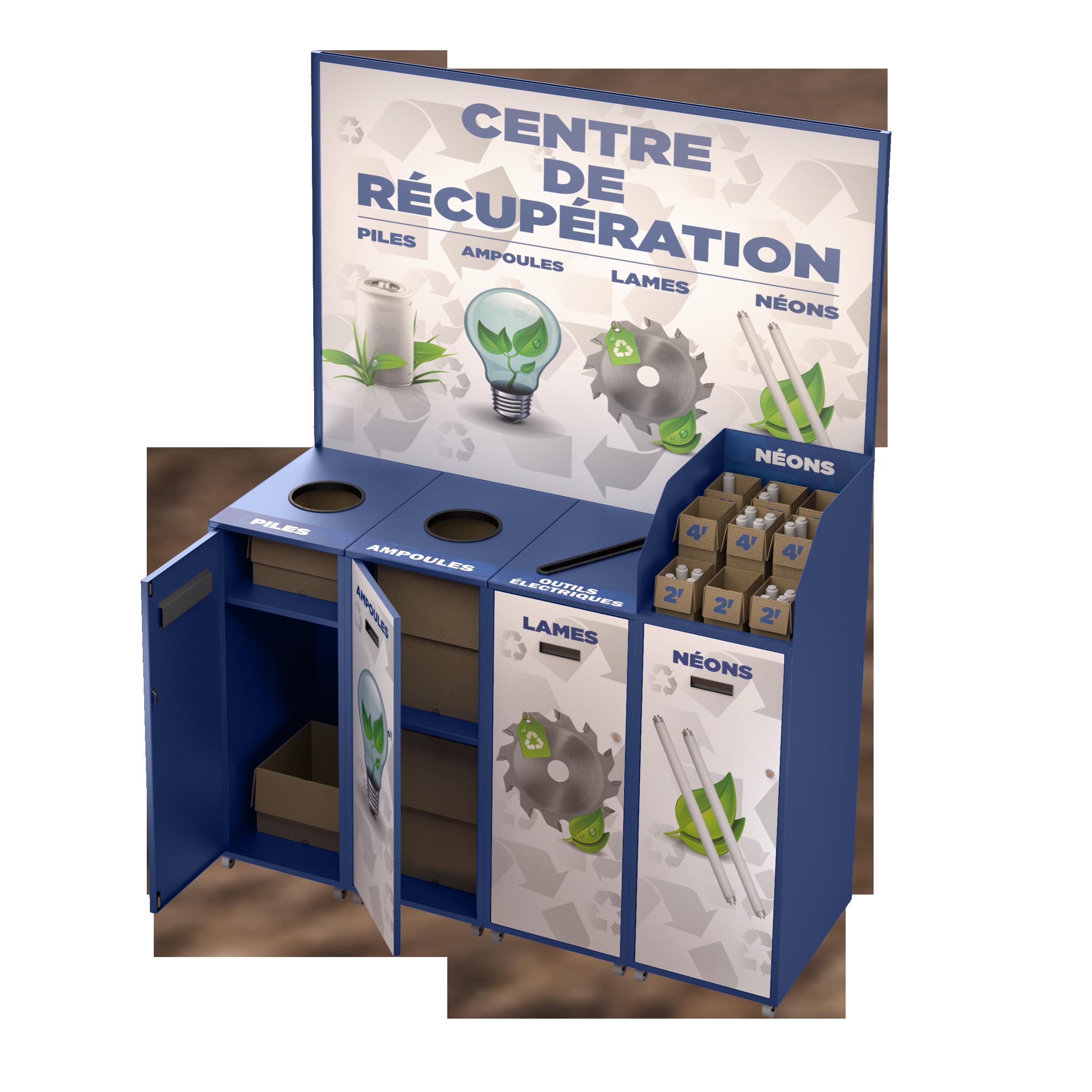 Livraison gratuite en gros nouveau système de récupération