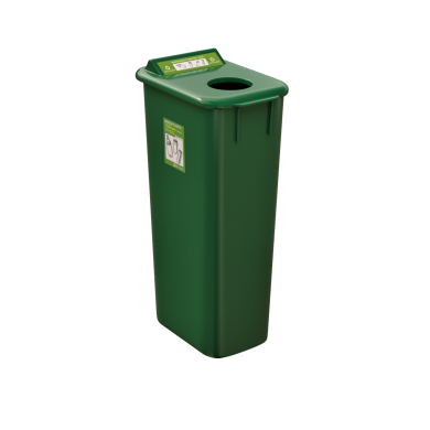 NI Products Mobilia Refundable Containers Bin 58 liters without lid