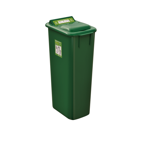NI Products Mobilia Refundable Containers Bin 58 liters with lid