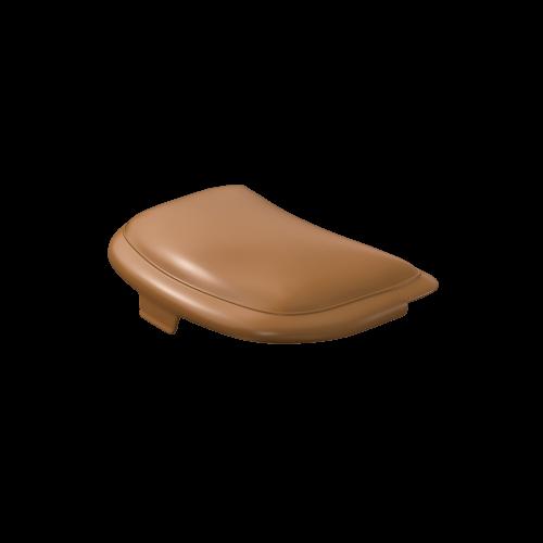 NI Produits - Couvercle brun pour la petite corbeille TriSource 4 litres