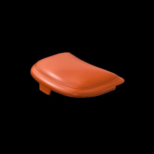 NI Produits - Couvercle orange pour la petite corbeille TriSource 4 litres