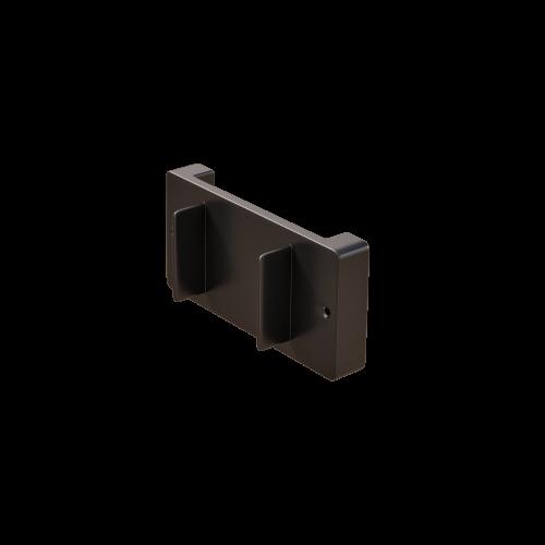 NI Produits - Support mural noire pour petite poubelle TriSource 4 litres