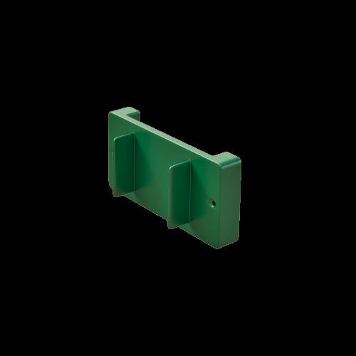 NI Produits - Support mural vert pour petite poubelle TriSource 4 litres