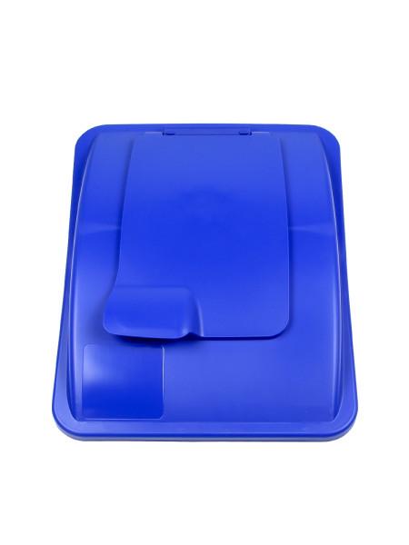 NI Produits - Couvercle Bleu avec fermoir pour Waste Watcher 102 et 121 litres