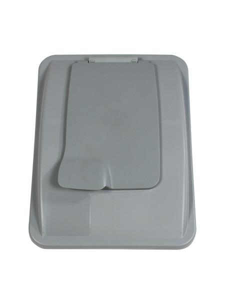 NI Produits - Couvercle Gris avec fermoir pour Waste Watcher 102 et 121 litres