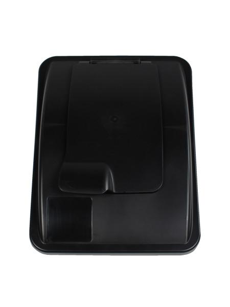 NI Produits - Couvercle Noir avec fermoir pour Waste Watcher 102 et 121 litres