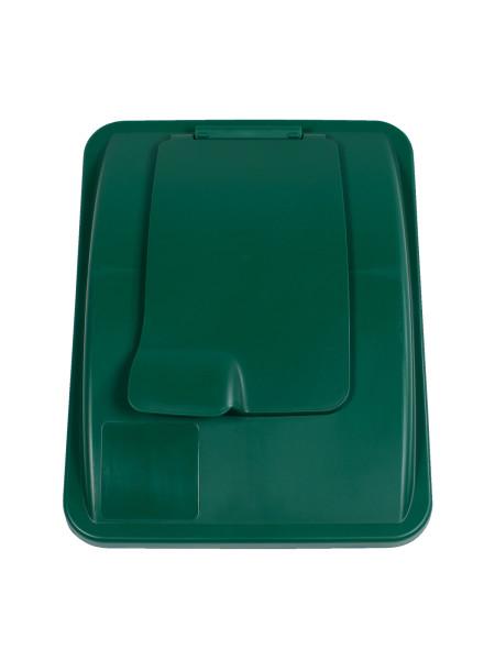NI Produits - Couvercle Vert avec fermoir pour Waste Watcher 102 et 121 litres