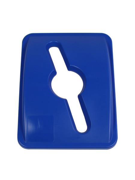 NI Produits - Couvercle Bleu pour Waste Watcher 102 ou 121 Litres avec Ouverture Pêle-mêle