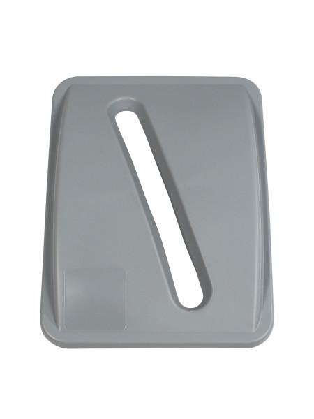 NI Produits - Couvercle Gris pour Waste Watcher 102 ou 121 Litres avec Ouverture Fente
