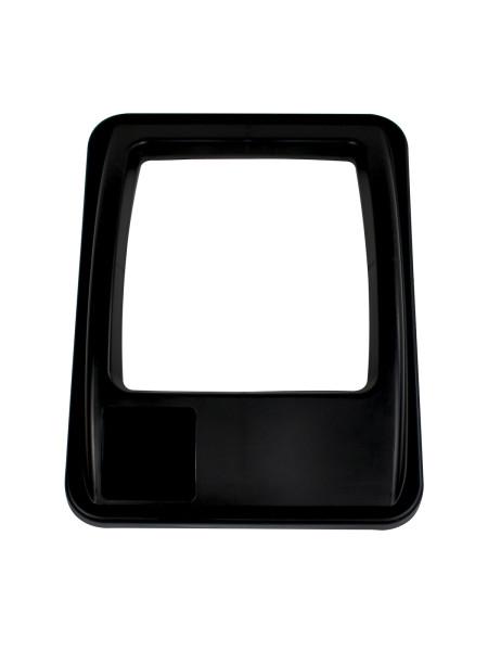 NI Produits - Couvercle Noir pour Waste Watcher 102 ou 121 Litres avec Ouverture Carré