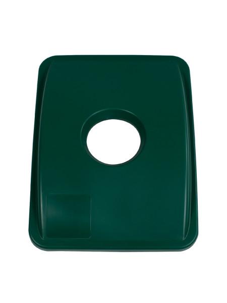NI Produits - Couvercle Vert pour Waste Watcher 102 ou 121 Litres avec Ouverture Ronde