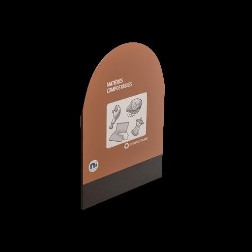 NI Produits - Dosseret pour le MultiPlus Gris Matières Compostables