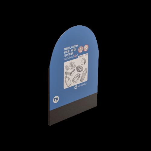 NI Produits - Dosseret pour le MultiPlus Gris Recyclage