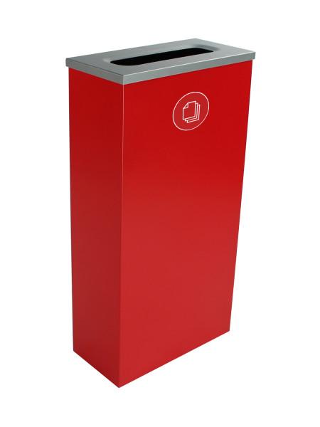 NI Produits - Compartiment de Tri Vert pour Matières Résiduelles Spectrum Cube Slim avec ouverture Fente
