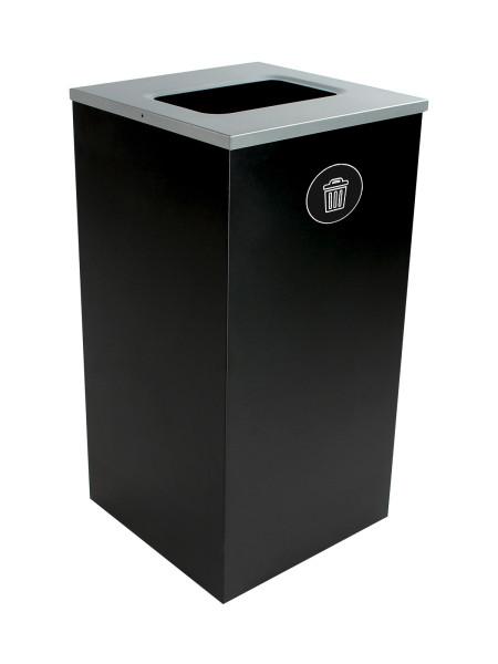 NI Produits - Poubelle Noire Spectrum Cube Plein