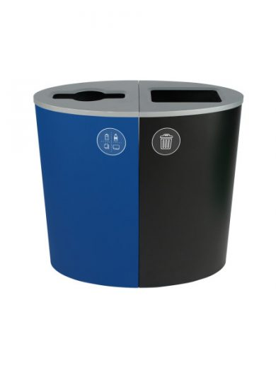 NI Products - Blue & Black Spectrum Double Ellipse with Mixed & Full Opening