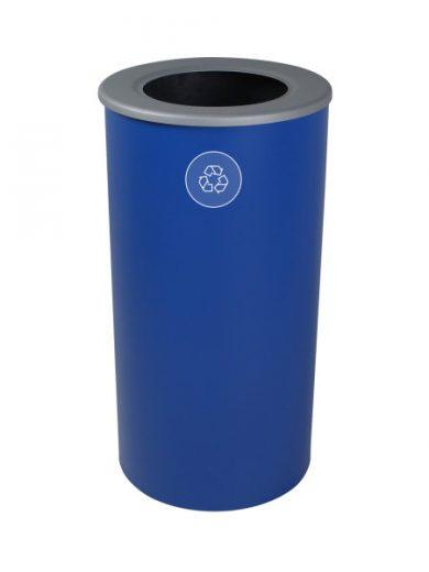 NI Produits - Poubelle Bleue pour la Récupération Spectrum Round Recyclage