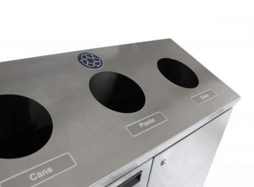 NI Produits - Station de recyclage Frost 3 voies de 67 litres 2