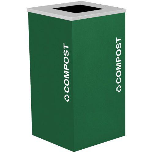 NI Produits - Module Vert de Tri Kaleidoscope 91 Litres pour les Matières organiques