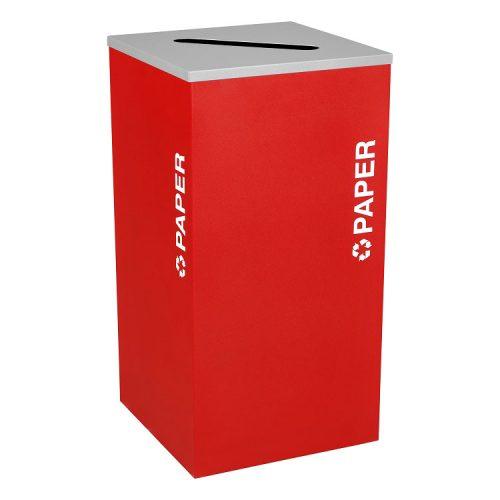 NI Produits - Module Rouge de Tri Kaleidoscope 91 Litres pour le Papier