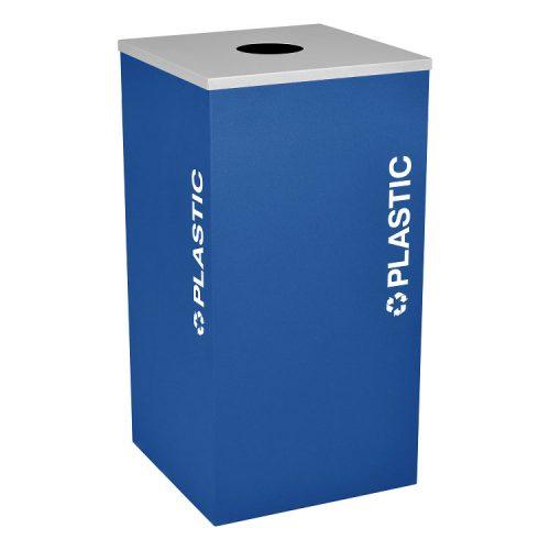 NI Produits - Module Bleu de Tri Kaleidoscope 91 Litres pour le Plastique