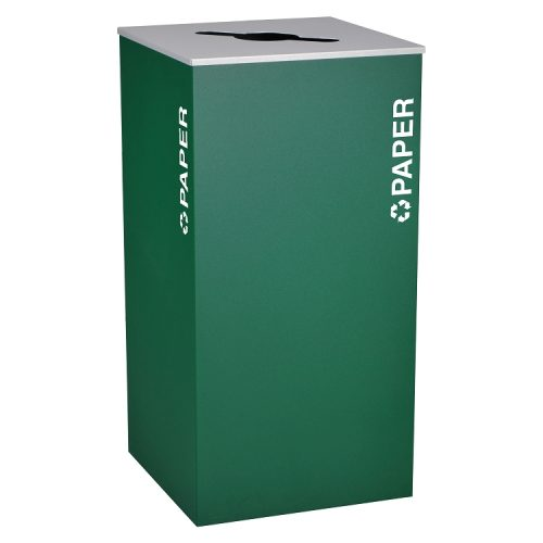 NI Produits - Module de tri Vert Kaleidoscope 136 Litres pour le Papier