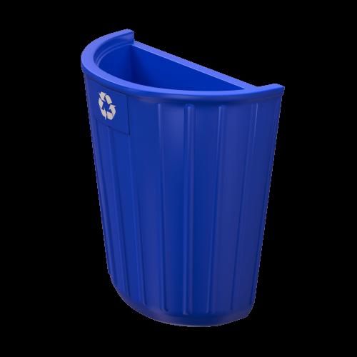 NI Produits - Coquille Bleue pour la Corbeille extérieure Tulia