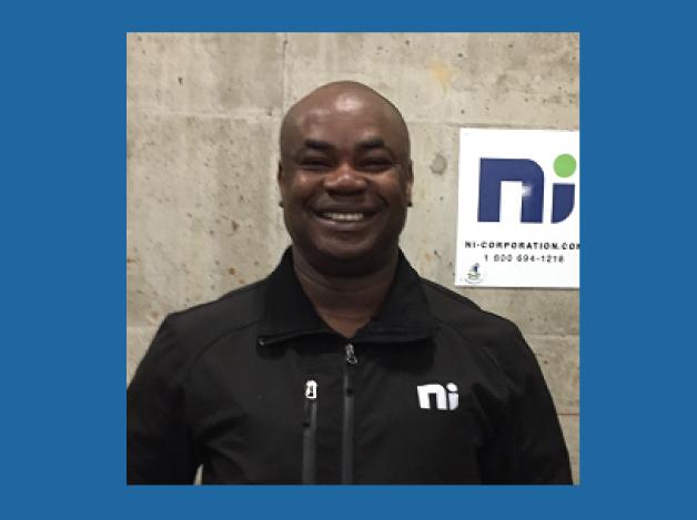 Maxime Kouamé, Chef d'équipe terrain des commis à la récupération, NI Récupération Inc.
